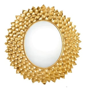 Hammered Wall Decorative Mirror for Bedroom and Livingroom