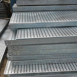 Pre-Galvanized Perforated Cable Tray