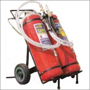 Trolley Mounted Safex Fire Extinguishers