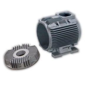 Heat Resistant Silver Electric Motor Body Casting