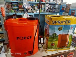 Force Dual Motor Battery Operated Sprayer