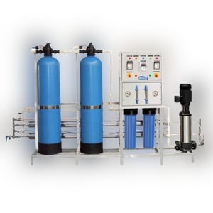 Automatic Industrial 2000 Lph Ro Water Purification Plant