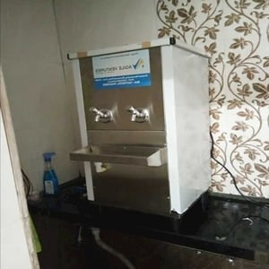 Two Tap Mirror Finished Modern Stainless Steel Stylish Water Cooler