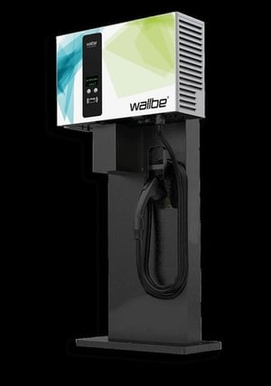 Wallbe DC 25Kw German Electric Vehicle Charger
