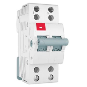 Power Efficiency MCB Changeovers Switch