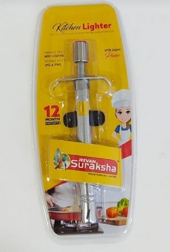 Gas Lighter With Plastic Body Handle