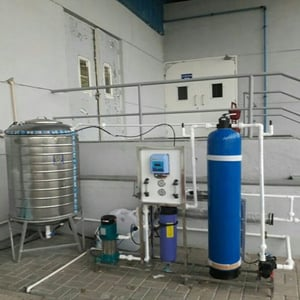 Industrial Stainless Steel Automatic Electric Reverse Osmosis + Uv Water Plant