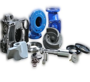 Galvanized Finishing Industrial Stainless Steel Electric Kirloskar Pump Spares