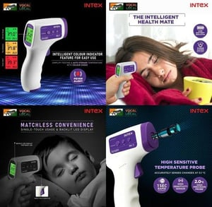 Portable IR Thermometer Comes with Backlight LED Digital Display
