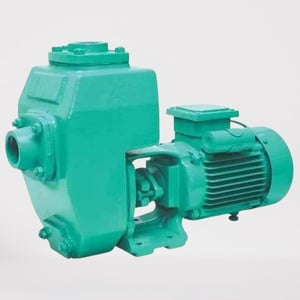 Corrosion Resistance Cast Iron Electric Three Phase Non Clog Industrial Sewage Motor Pump