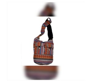 Cotton Fabric Ethnic Hand Embroidered Bags