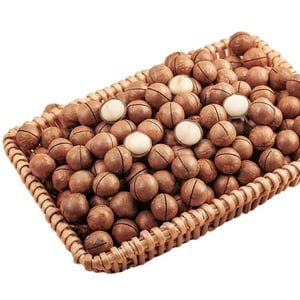Highly Nutritious Roasted Macadamia Nuts with Delicious Taste
