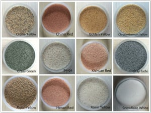 Best Raw Colorful Dried and Wet Art White Silica Quartz Sand