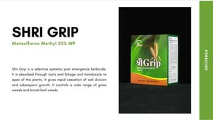 Shri Grip Fungicides For Agriculture Sector