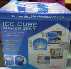 200 Grams Plastic Silicone Ice Cubes Moulds