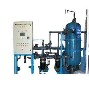 Mild Steel Single Phase Energy Efficient And Durable Commercial Semi Automatic Grey Water Treatment System Cum Plant