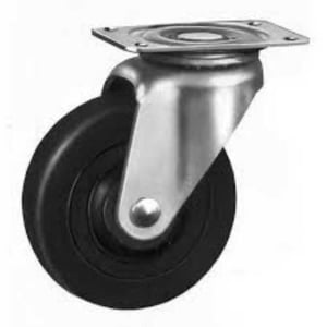 Stainless Steel Rubber Caster Wheels