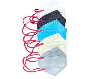 Iso Certified Non Woven Anti Bacterial Anti Pollution Multicolor Safety Face Mask