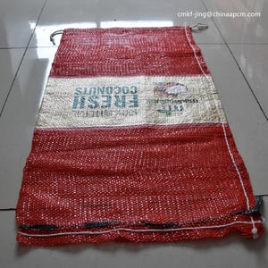 Pp Mesh Bag with Label