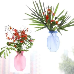 Removable Silicone Flower Vases (Pack of 2 Pcs)