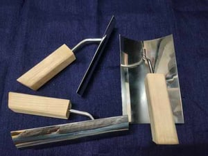 Stainless Steel Epoxy Coving Tool