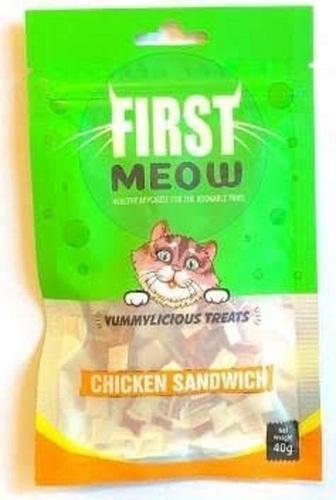 First Meow Cat Threats (Chicken Sandwich)