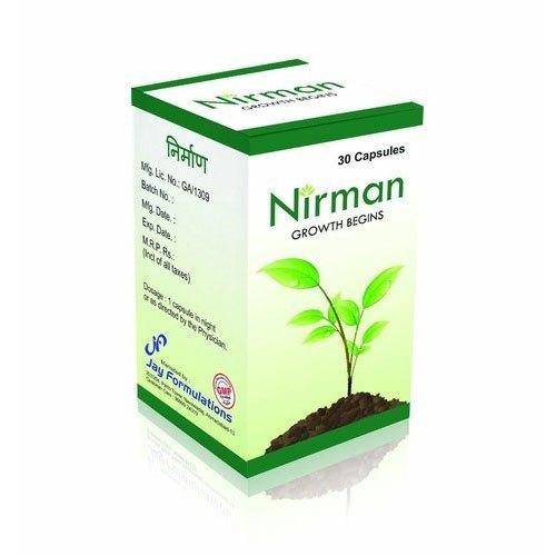 Nirman Hair Growth Begins Capsules (Packaging Size 30 Capsules)