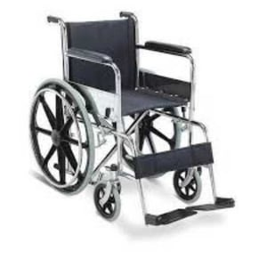 Silver Handicapped Wheel Chair