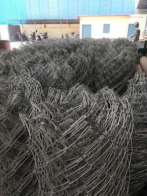 Zinc Coated GI Chain Link Fencing Wire