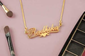Attractive Design Customize Name Necklace
