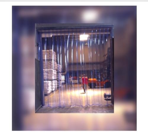 Natural Transparent PVC Strip Curtain