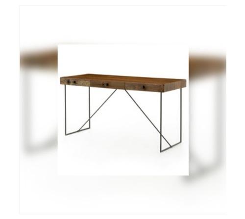 Industrial Furniture Wood Metal Working Table