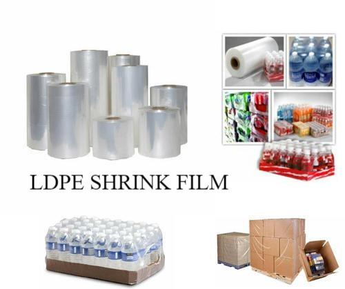 Ldpe Shrink Film For Packaging Beverage, Plastic Items