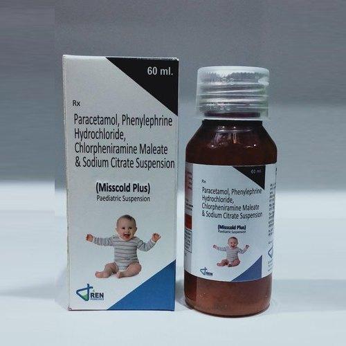 Misscold Plus Peadiatric Suspension 60 ml