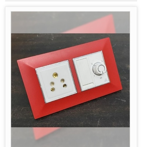 Red Color Modular Switches for Restaurant