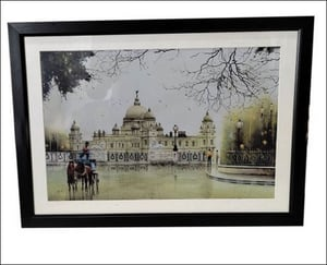 Decoration Lustre Finish Paper Printed Wall Scenery