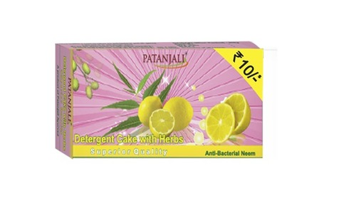 Patanjali Detergent Cake with Herbs 150g