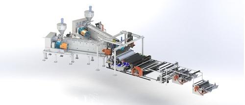 Solar EVA Cast Film Plastic Machine