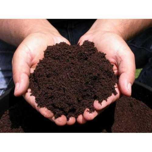 Brown Organic Fertilizer Powder