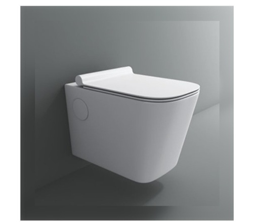 Ceramic White Color Toilet Seat with Dual Flush
