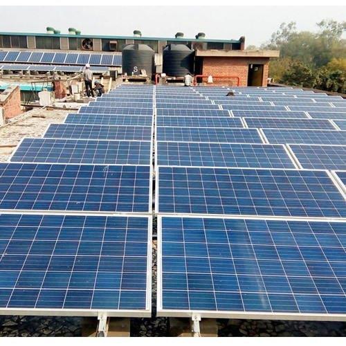 Industrial Solar Power Plant Labour Service
