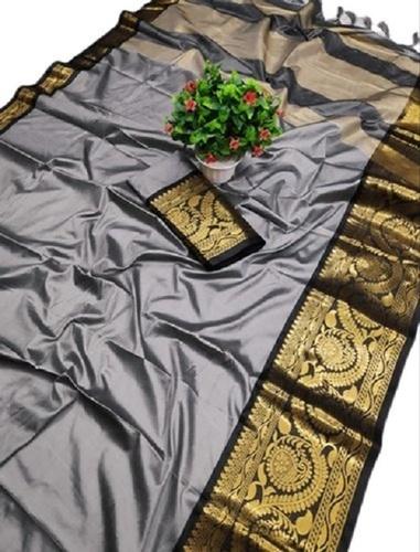 Party Wear Ladies Fancy Cotton Silk Saree