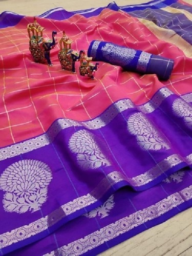 Party Wear Multi Color Designer Cotton Silk Saree
