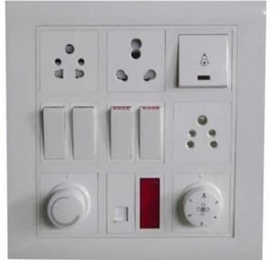 Plastic Electrical Switch Board