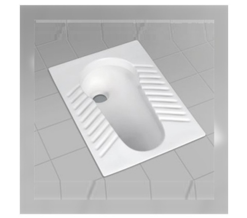 White Color Polished Toilet Seat