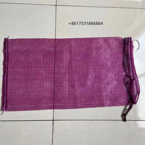 Pp Leno Plastic Mesh Net Potato Onion Bags