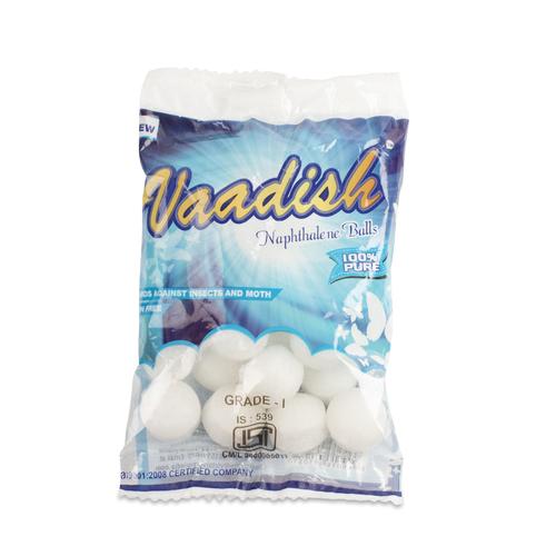 Vaadish Naphthalene Balls (ISI Marked) 100G