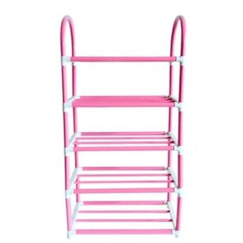5 Shelves Rectangular Mild Steel Rack