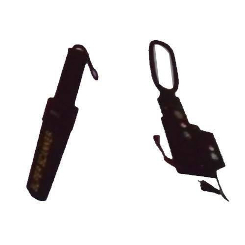 Black Hand Held Metal Detector