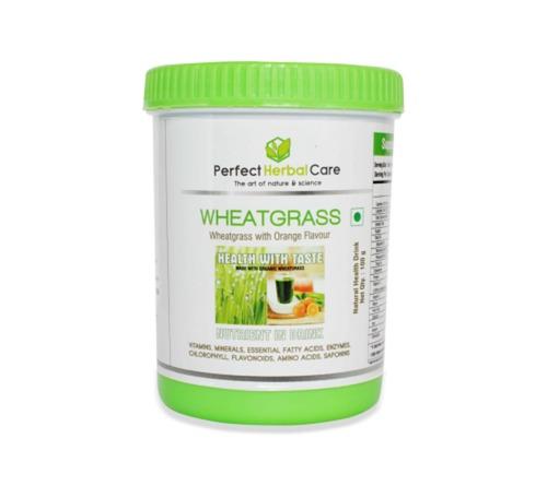 Herbal Detoxifier Orange Flavor Wheatgrass Powder